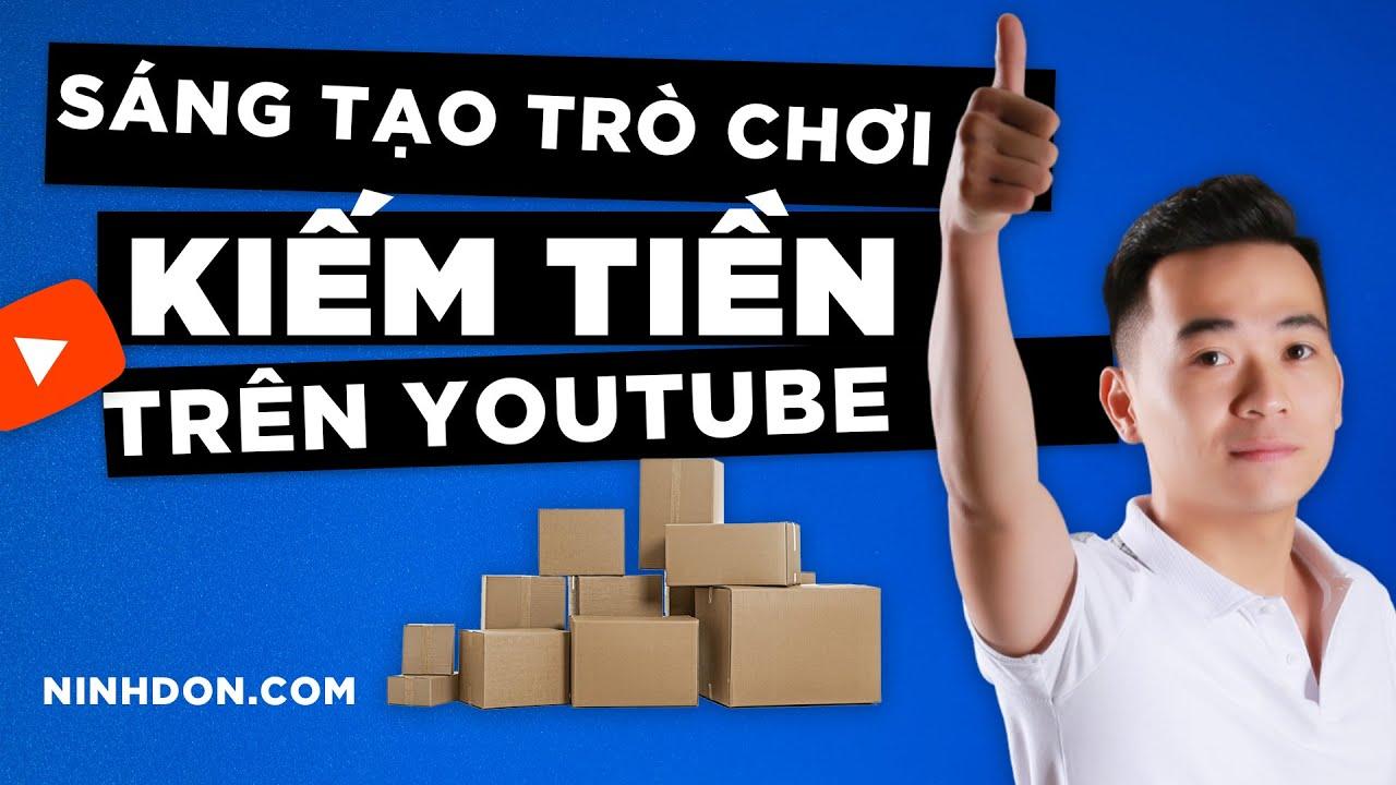 Biến Giấy Bìa Cứng Bỏ Đi Thành Những Trò Chơi Thú Vị - Ý Tưởng Xây Dựng Kênh YouTube Thành Công Độc Đáo