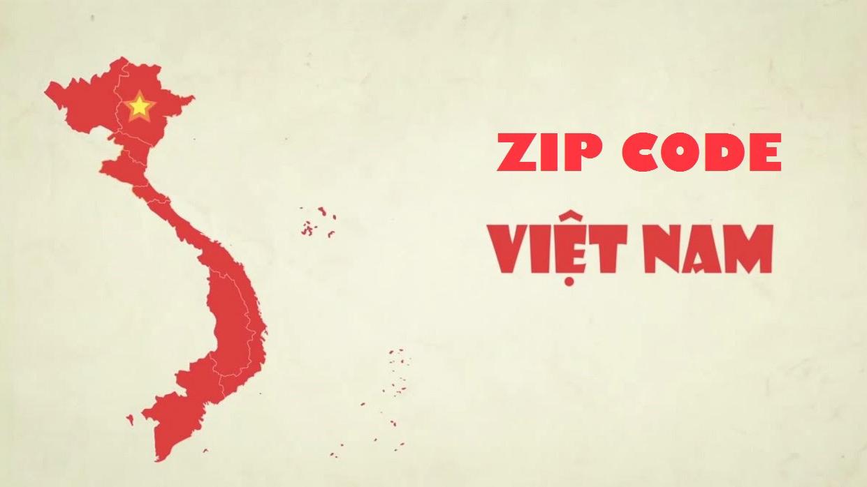 Mã bưu điện Zip Code/Postal Code mới nhất tại Việt Nam (2019)