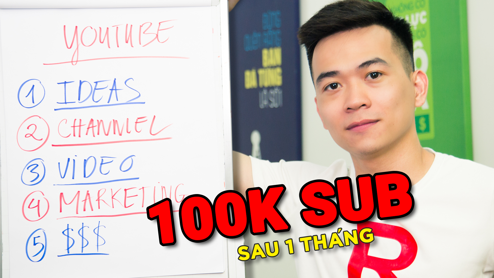 Quy Trình 5 Bước Xây Dựng Kênh YouTube Thành Công (Đạt 100.000 Người Đăng Ký/ Tháng)